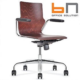BN Wooden Conversa Task Chair £241 - Office Chairs