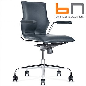 BN Leather Conversa Task Chair £324 - Office Chairs
