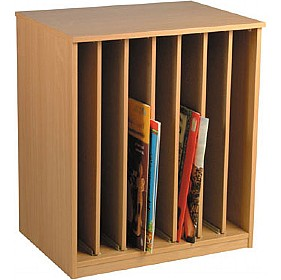 Vertical Big Book Storage £0 - Education Furniture