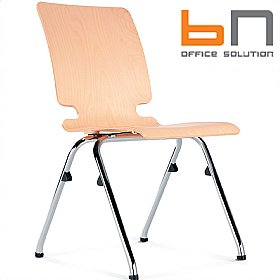 BN Axo Wooden Conference Chair £82 - Office Chairs