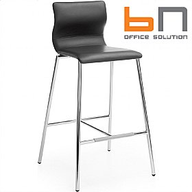 BN Evora Leather Bar Stool £148 - Bistro Furniture