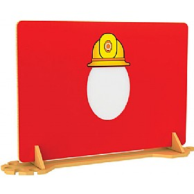 Fire Fighter Room Divider With Mirror £0 - Education Furniture