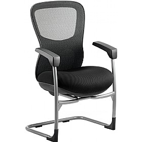 Raptor Mesh and Fabric Cantilever Chair £312 - Office Chairs