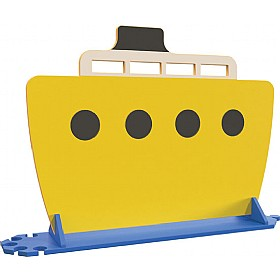 Yellow Boat Room Divider £0 - Education Furniture