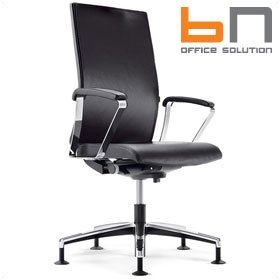 BN Mojito Leather Swivel Conference Chair £441 - Office Chairs