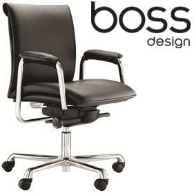boss design delphi medium back task chair leather office chairs 300