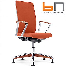 BN Mojito Premium Fabric Swivel Conference Chair £461 - Office Chairs