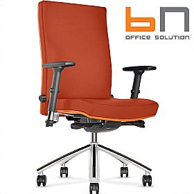 BN Diplomat Premium Fabric Executive Chair £321 - Office Chairs