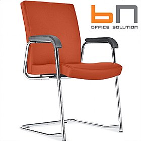 BN Diplomat Fabric Cantilever Conference Chair £257 - Office Chairs