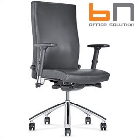 BN Diplomat Leather Executive Chair £356 - Office Chairs