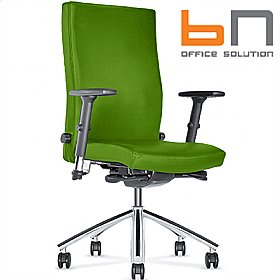 BN Diplomat Fabric Executive Chair £294 - Office Chairs