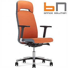 BN Belive Fabric Executive Chair With Headrest £420 - Office Chairs