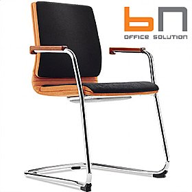 BN Belive Fabric Cantilever Conference Chair £296 - Office Chairs