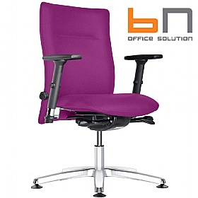 BN Kubik Fabric Swivel Conference Chair £259 - Office Chairs