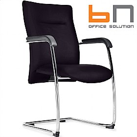 BN Kubik Fabric Cantilever Conference Chair £213 - Office Chairs