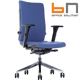BN Belite Fabric High Back Executive Chair £240 - Office Chairs