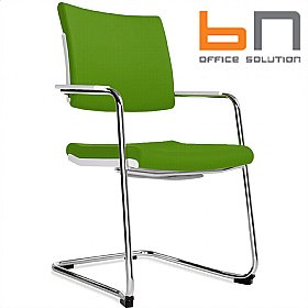 BN Belite Fabric High Back Cantilever Conference Chair £210 - Office Chairs