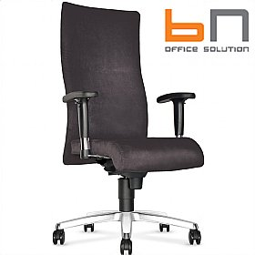 BN Trinity Fabric High Back Executive Chair £196 - Office Chairs