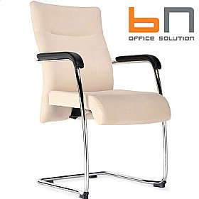 BN Trinity Fabric Cantilever Conference Chairs £162 - Office Chairs