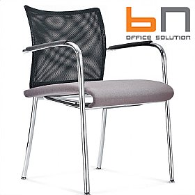 BN Carera Mesh & Fabric Conference Chairs £204 - Office Chairs