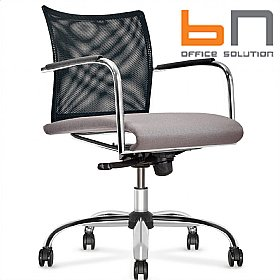 BN Carera Mesh & Fabric Task Chair £284 - Office Chairs