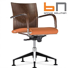 BN Carera Fabric Swivel Conference Chair £352 - Office Chairs
