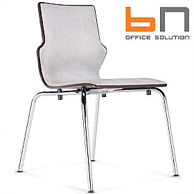 BN Conversa Upholstered Wooden Chair £122 - Bistro Furniture