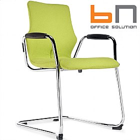 BN Conversa Fully Upholstered Cantilever Chair £200 - Bistro Furniture