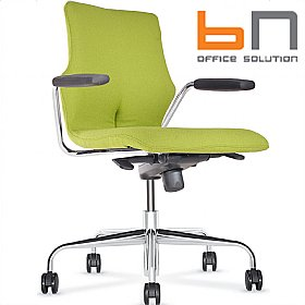 BN Conversa Fully Upholstered Swivel Chair £274 - Office Chairs