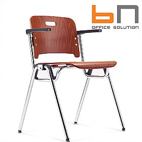BN Staccato Wooden Conference Chairs £114 - Office Chairs