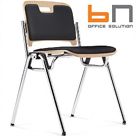 BN Staccato Leather Conference Chairs £151 - Office Chairs