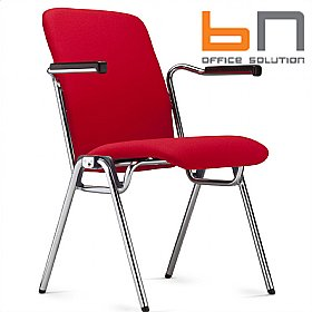 BN Staccato Fully Upholstered High Back Conference Chairs £147 - Office Chairs