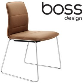 Boss Design Arran Skid Base Meeting Chair £210 - Office Chairs