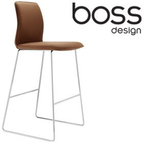 Boss Design Arran Skid Base Stool £231 - Bistro Furniture