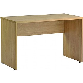 NEXT DAY Olympia Rectangular Panel End Desk £110 - Next Day Office Furniture