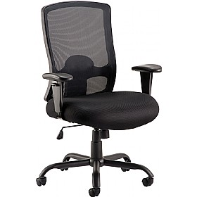 Samson 32 Stone Mesh Manager Chair £236 - Office Chairs