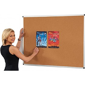 Aluminium Framed Cork Noticeboards £19 - Display/Presentation