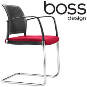Boss Design Mars Cantilever Visitor Chair £178 - Office Chairs