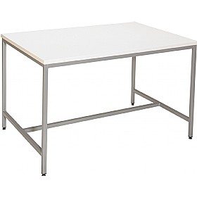 Fully Welded H-Frame Project Science Lab Table £0 - Education Furniture