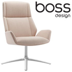 Boss Design Kruze Lounge Chair £990 - Office Chairs