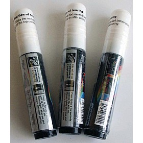 Drywipe / Wetwipe Glass and Blackboard Broad Tip White Marker Pens £0 - Display/Presentation