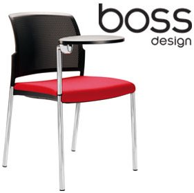 Boss Design Mars Writing Tablet Chair £218 - Office Chairs
