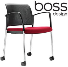 Boss Design Mars Mobile Conference Chair £186 - Office Chairs