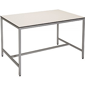 Trespa Fully Welded H-Frame Project Science Lab Table £0 - Education Furniture