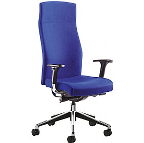 Class High Back Task Chair With White Outer £338 - Office Chairs