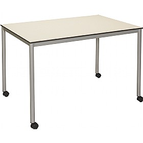 Union Trespa Rectangular Deluxe Tubular Tables £248 - Meeting Room Furniture