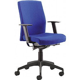 Class Medium Back Task Chair With White Outer £299 - Office Chairs