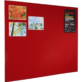 Eco Friendly Frameless Felt Covered Noticeboard £22 - Display/Presentation
