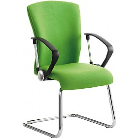 Poise Medium Back Cantilever Visitor Chair £209 - Office Chairs