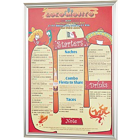 Busygrip Stainless Steel Poster Frames £27 - Display/Presentation